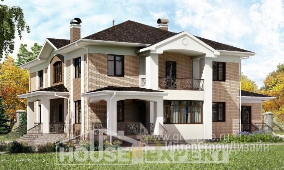 Проект дома 518м², жилая площадь 194м²