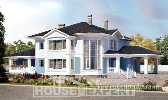 Проект дома 618м², жилая площадь 143м²