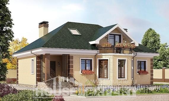 Проект дома 151м², жилая площадь 65м²