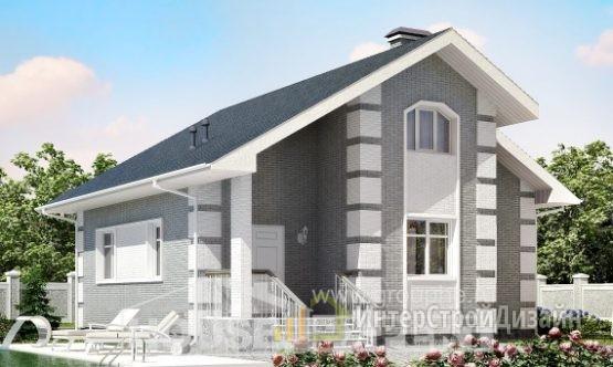 Проект дома115м², жилая площадь 72м²