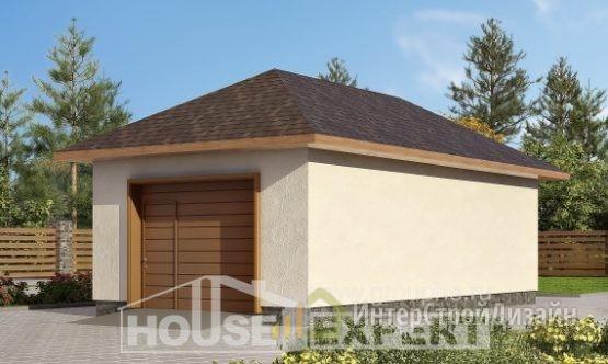 Проект гаража 41м²