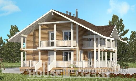 Проект дома 126м², жилая площадь 71м²
