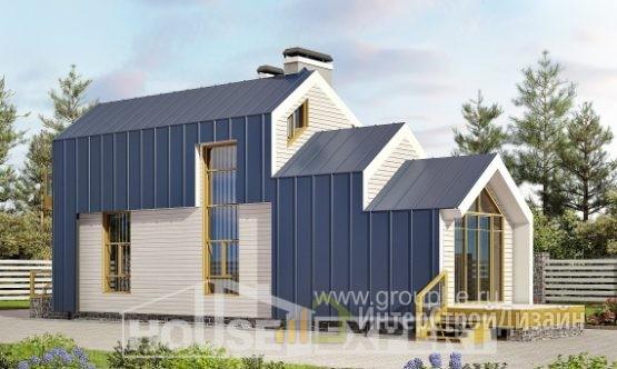 Проект дома 57м²