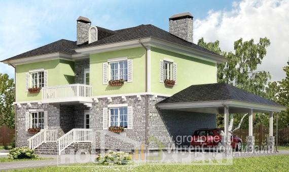 Проект дома 156м², жилая площадь 80м²