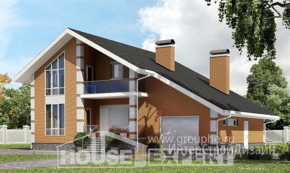 Проект дома 192м², жилая площадь 81м²