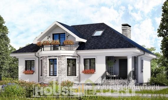 Проект дома 148м², жилая площадь 871м²