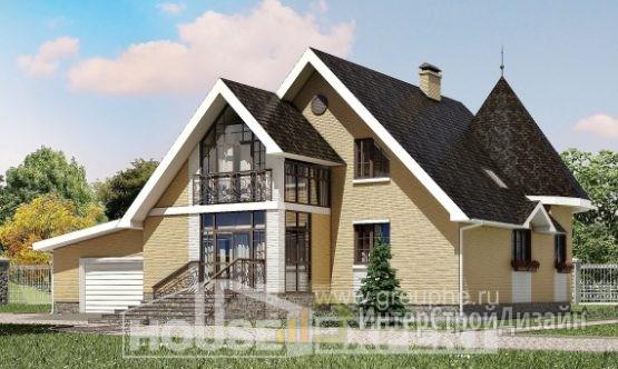 Проект дома 248м², жилая площадь 84м²