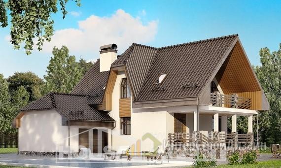 Проект дома 149м², жилая площадь 69м²