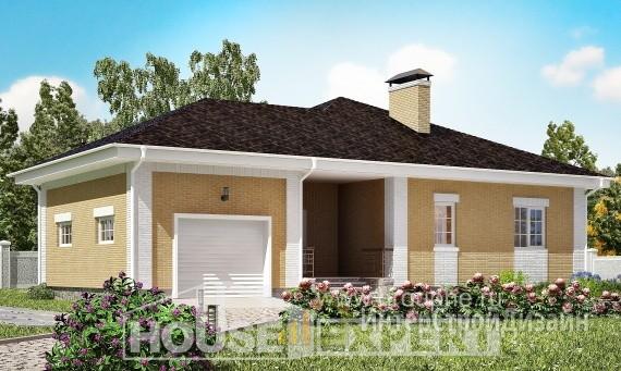 Проект дома 134м², жилая площадь 64м²