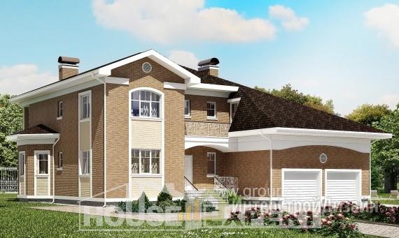 Проект дома 336м², жилая площадь 174м²