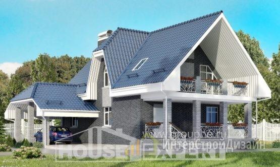 Проект дома 125м², жилая площадь 69м²