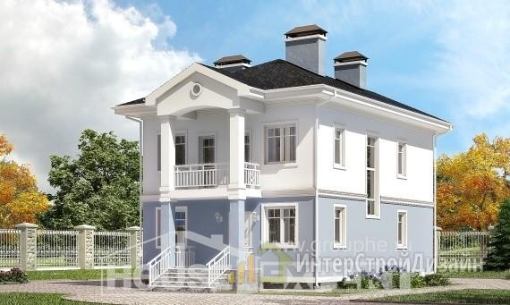 Проект дома 120м², жилая площадь 63м²