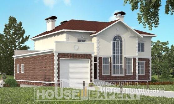 Проект дома 381м², жилая площадь 142м²