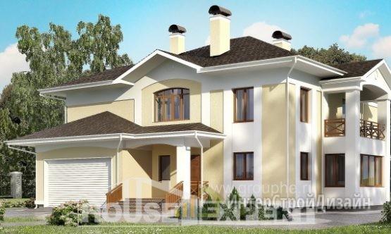 Проект дома 362м², жилая площадь 191м²