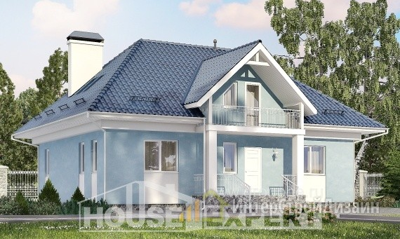 Проект дома 200м², жилая площадь 100м²