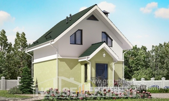 Проект дома 69м², жилая площадь 42м²