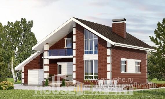 Проект дома 178м², жилая площадь 83м²