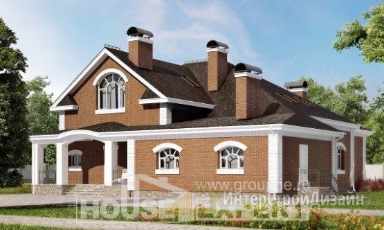 Проект дома 403м², жилая площадь 193м²