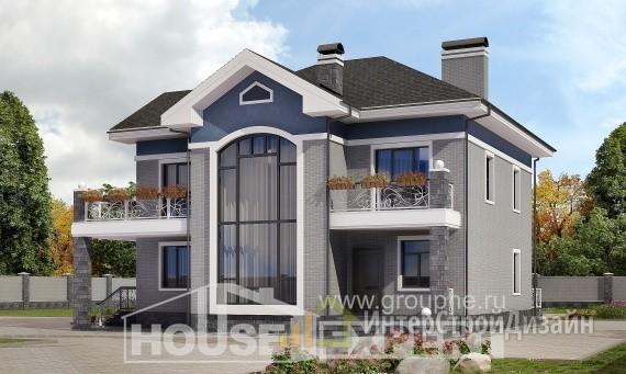 Проект дома 200м², жилая площадь 105м²