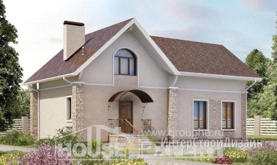 Проект дома 147м², жилая площадь 91м²