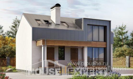 Проект дома 118м², жилая площадь 78м²