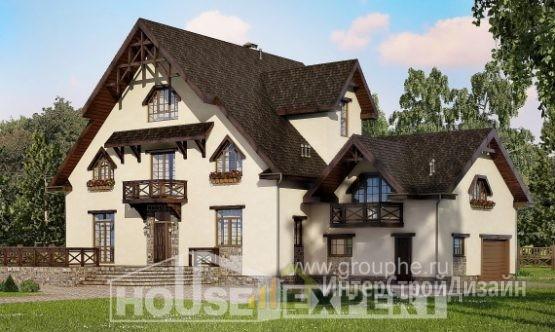 Проект дома 433м², жилая площадь 217м²