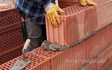 Стоимость кладки керамических блоков