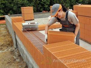 строительство домов из керамических блоков под ключ