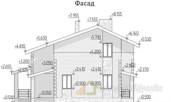 Строительство 2х этажного дома из керамзитобетонных блоков 120м²