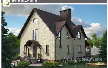 Строительство 2х этажного дома из керамических блоков 330м²