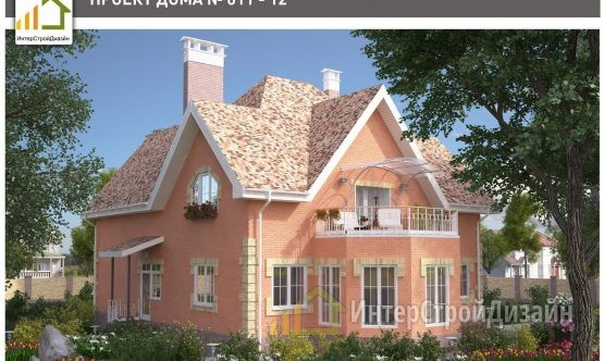 Строительство 2х этажного дома из газобетонных блоков 259м²