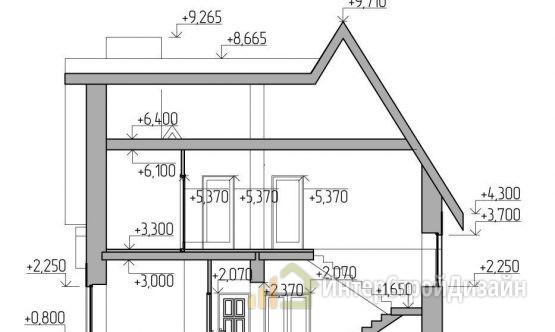 Строительство 2х этажного дома из керамзитобетонных блоков 179м²