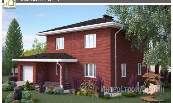 Строительство 2х этажного дома из газобетонных блоков 164м²