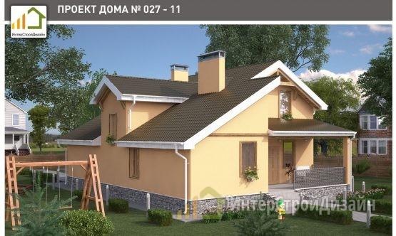 Строительство 2х этажного дома из керамзитобетонных блоков 147м²