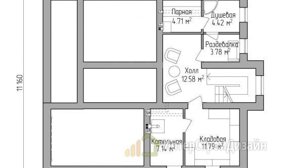 Строительство 2х этажного дома из газобетонных блоков 221м²