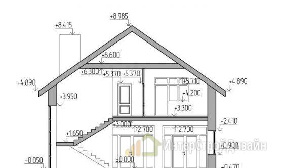 Строительство 2х этажного дома из керамических блоков 315м²