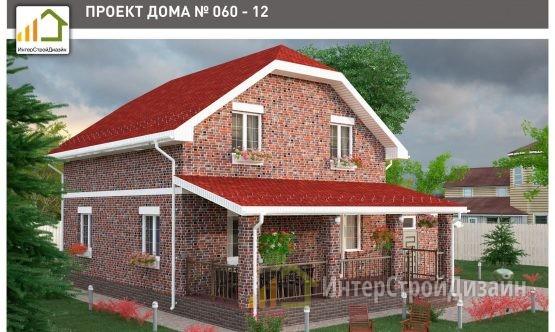 Строительство 2х этажного дома из газобетонных блоков 163м²