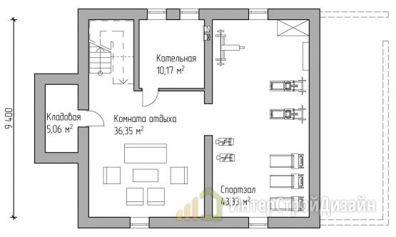Строительство 2х этажного дома из керамических блоков 285м²