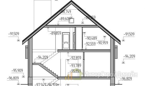 Двухэтажный дом из керамических блоков 285 м²