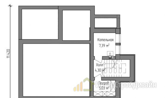 Строительство 2х этажного дома из газобетонных блоков 182м²