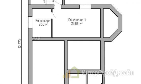 Строительство 2х этажного дома из керамических блоков 185м²