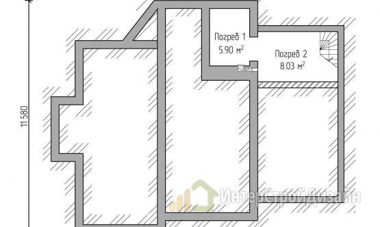 Строительство 2х этажного дома из газобетонных блоков 207м²