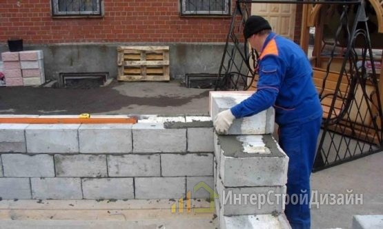 Проектирование домов из блоков